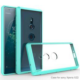Phone Bumper Cellphones & Telecommunications For Sony Xz2 Case Crystal Hybrid Bumper Clear Hard Acrylic Back Case For Sony Xperia Xz2 Premium Xa2 Xa1 Ultra Xa L1 L2 Xz1