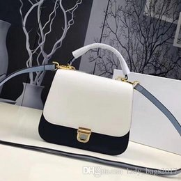 Genuine Leather Crossbody Handbags Wholesale Australia - New Autumn Multicolor Top Handles Import Genuine Leather Strap Crossbody Bags Clutch Purses Handbags Shoulder Messenger Hasp Bag