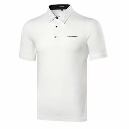 China Golf Shirt Mens Polo Shirts Outdoor Sport Tops Golf T-Shirts suppliers