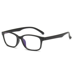 Discount computer glasses protection New Hot Sale Women's Men's Computer Glass Frame Men And Women Glasses Frame Blue Lens Glasses UV Protection Bl