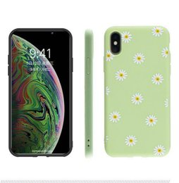 China 3D Flower Daisy Soft Silicon Case for IPhone X S XS Max Xr 6 6S 7 8 Plus I Phone 8plus Tpu Floral Back Cover Phone Protective Cases 4colors suppliers