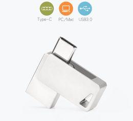 $enCountryForm.capitalKeyWord Australia - Top sell Brand new MINI USB Flash Drive Pen Drive 2-in-1 3.0 USB Flash Disk Memory Stick 16G 32G 64G 128G Pendrive TYPE-C USB3.0