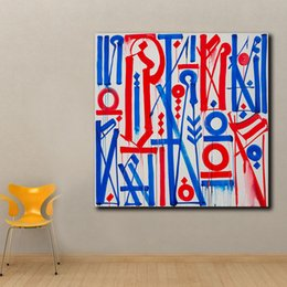 $enCountryForm.capitalKeyWord Australia - 1 Piece Large Size Pop Art Street Graffiti Oil Painting Wall Art Picture Painting Printed On Canvas Home Decor No Frame