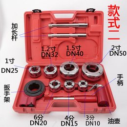 $enCountryForm.capitalKeyWord Canada - New Durable 4 Points - 2 Inch Threading Machine Tap And Die Manual Power Tools