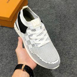 $enCountryForm.capitalKeyWord Australia - Breathable Men Shoes Footwears 2019 Fashion Lightweight Footwear Fitness Sports Trainers with Origin Box Casual Mens Shoes Fastlane Sneaker