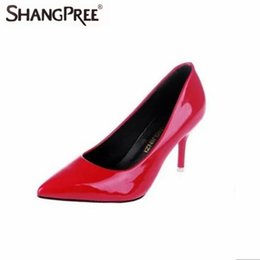 $enCountryForm.capitalKeyWord UK - Hot 2019 Plus Size 34-42 Women Pointed Toe Pumps Leather Shoes High Heels Shoes Wedding Elegant Office Dress Zapatos Mujer