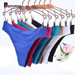 f6551b48d BEFORW Mulheres Calcinha Sexy Spandex Shorts Calcinha Vs Cueca Underwear  Preto Sólida Rosa Lingerie Tanga Tamanho Grande Hipster Calcinha D19011604