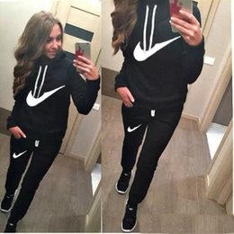 $enCountryForm.capitalKeyWord NZ - Women's Sport Suits 2019 Hot sale Tracksuit for women sweatshirt and Joggers sets Plus Size Autumn Winter Coat svitshot hoodie Jackets