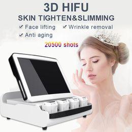 $enCountryForm.capitalKeyWord Australia - Portable 3D HIFU High Intensity Focused Ultrasound HIFU Machine Wrinkle Removal Body Slimming Hifu Machine 20500 Shots