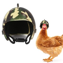 photo funny prop Australia - Pet Helmet Funny Protective Chicken Helmet Hen Other Supplies Supplies Hard Bird Hat Headgear for Motorcycles Photo Props Protect Pet Access
