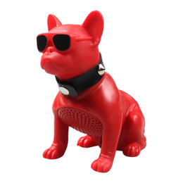 $enCountryForm.capitalKeyWord Australia - Wireless speaker full body dog creative bulldog puppy Bluetooth speaker with card FM radio M12 dhl free