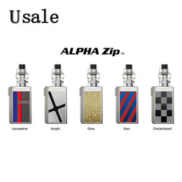 T1 T2 online shopping - VOOPOO Alpha Zip Kit Dual Battery with ml Maat Tank MT T1 MT T2 Coils Top Fill with Automatic Gap Original