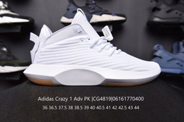 Shoe Engraving NZ - 2019 Newest Repeated engraving Kobe Classic boots Crazy 1 ADV PK fashion Man Basketball shoes Ma'am Gym shoes o06