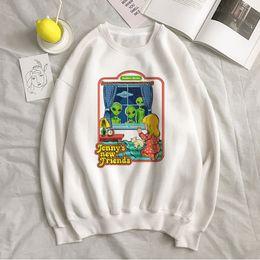 Wholesale fun sweatshirts for sale – custom Devil new evil big size fun Harajuku O neck winter female cartoon letter printing casual tops couple Ulzzang sweatshirt