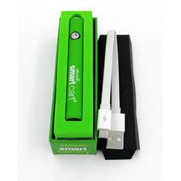Smart Carts Preaqueça Bateria 380 mAh Variável VV Bateria usb Carregador Vape Pen Kit para 510 Fio SmartCart Grosso Oi Cartucho em Promoção