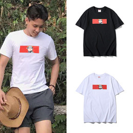 $enCountryForm.capitalKeyWord Australia - 19ss Designe Tee ape Off Black White T Shirts Naruto Uzumaki Printing All-match Cotton T-shirt Men Women Casual short-sleeved Tees