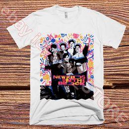Funny Blocks Australia - New Kids On The Block T-Shirt Vintage Tee Repro '89 Funny free shipping Unisex Casual Tshirt top
