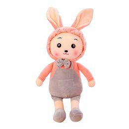 Wholesale Toy Monkeys Australia - Lovely Big Rabbit Bonnie Rabbit Puppy Toy Doll Birthday Gift Creative Comfortable Fashion Animal Doll Pillow