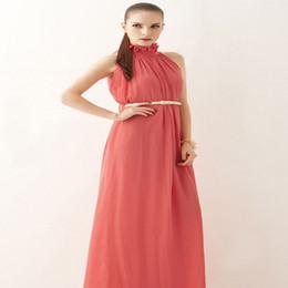 $enCountryForm.capitalKeyWord Australia - 2019 speed sell hot bohemian dress hanging neck round neck chiffon dress long petticoat