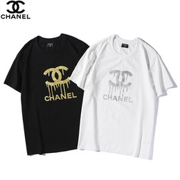 $enCountryForm.capitalKeyWord Australia - 19SS mens designer t shirts luxury box logo t-shirt fashion brand mens and womens Hot stamping letters printed mens free shipping