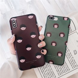 $enCountryForm.capitalKeyWord Australia - For iPhone X XS MAX  XR 8 7 6 Plus Mobile Couple Phone Case Models Shell Cute Soft Shell Exquisite Trend Cool Dirt-resitant Protective Case