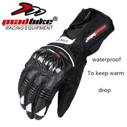 $enCountryForm.capitalKeyWord Australia - MAD-BIKE motorcycle gloves men winter warm waterproof anti - fall carbon fiber electric car racing women NO.92