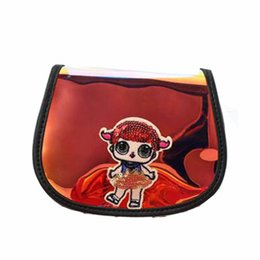 $enCountryForm.capitalKeyWord UK - New laser dazzle color satchel bag for children and girls, Korean version parent-child one-shoulder cartoon cute princess bag.Free shipping