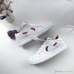 $enCountryForm.capitalKeyWord Australia - 2019 Hottest Authentic Parra x SB Dunk Low White Pink Rose Gym Red CN4504-100 Men Women Running Shoes Sports Sneakers With Original Box