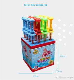 $enCountryForm.capitalKeyWord NZ - New 46CM Children bubble sword Outdoor toys parent-child interaction colorful bubble stick set children outdoor bubble stick