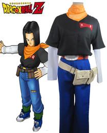 Z Packs Australia - Dragon Ball Z Artificial Man 17 Pack Anime Cosplay Menswear
