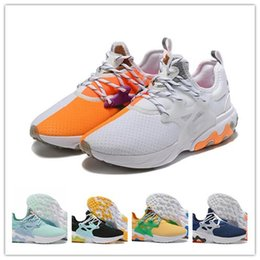 sneakers uomo NZ - New Arrive Classic React Presto Running Shoes Designer Prestos Scarpe Uomo Sports Trainer Cushion Surface Breathable Sneakers