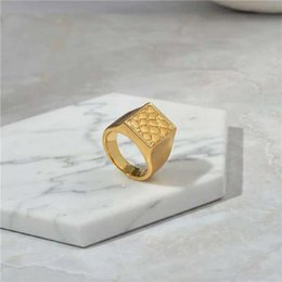 Nice Rings For Girls Australia - Europe and America Women Rings Yellow White Gold Plated Ring for Girls Women for Party Wedding Nice Gift