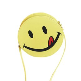 Two Face Coin UK - Cheap Sleeper #5001 Funny Smiling Face Women Shoulder Bag Handbag Girls Kid Clutch Messenger Bag Free Shipping