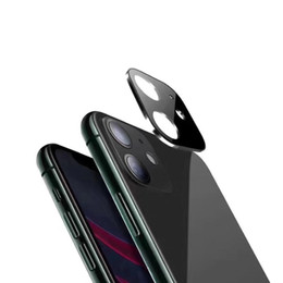 ar glasses Australia - Simple And Practical 3D Metal Camera Tempered Glass With Retail Package For Iphone 11 Pro Max Surface AR Technology Anti Fog Function