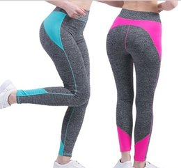 Wholesale stretch tights for sale - Group buy Yoga Pants High Quality Ladies Sexy Hip Leggings Women Pants Good Stretch Fitness Trousers Elastic Tight trousers