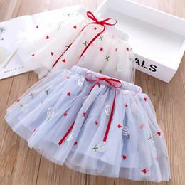 Sweet Tutu Australia - 2color Girls Skirts Summer Fashion princess Tutu Skirts sweet Kids Skirt Ballet Tutu Dress kids designer clothes girls kids clothes A4991