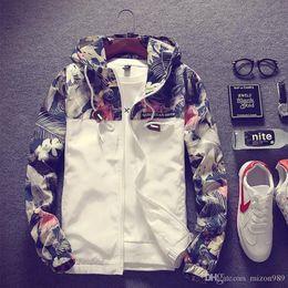 $enCountryForm.capitalKeyWord Australia - Men S Casual Sports Jacket Youth Korean Version Of Baseball Clothing Man Cotton Cashmere Lapel Hoodie Camouflage Embroidery Mark Sweate