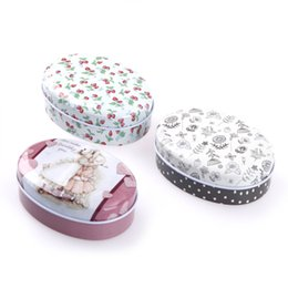 Wholesale Soap Box Containers Australia - 1pc European Soap box shape candy storage box wedding favor tin box cable organizer container household