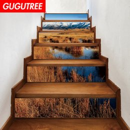 $enCountryForm.capitalKeyWord NZ - Decorate Home 3D scenery cartoon art wall Stair sticker decoration Decals mural painting Removable Decor Wallpaper G-698