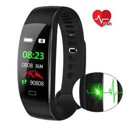 Smart Watch Android Sync Australia - Bluetooth Sync Smart Watch Men Message Reminder Smart Bracelet with Heart Rate Monitor for Android IOS Man Digital Watch