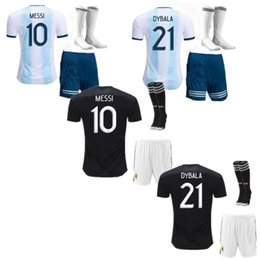 $enCountryForm.capitalKeyWord UK - Copa America 2019 Kids Argentina Home Soccer Jersey 2020 Child KITS 19 20 MESSI DYBALA MARADONA AGUERO DI MARIA HIGUAIN Away Football Shirts