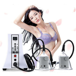 Wholesale 2019 Hot multifunctional Vacuum Breast Enlargement Pump Butt Enhancement Machine Buttocks Enlargement for Woman Home and Salon use