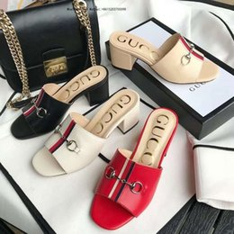 $enCountryForm.capitalKeyWord NZ - Brand 2019 Beautiful Woman With Sandals Imported Leather Sandalsdesigner Has Tag Female Slippers Women\'s Fashion High Heels