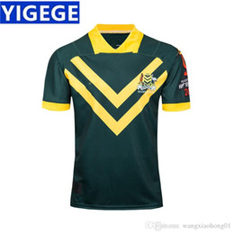 Quick Cup Australia - KANGAROOS 2017 WORLD CUP JERSEY AUSTRALIA WALLABIES INDIGENOUS JERSEY 2018 19 Players Rugby Training Singlet size S-3XL (can print)