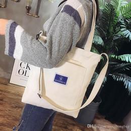 $enCountryForm.capitalKeyWord Australia - Nice Women Girls Canvas Shoulder Shopping Bag School Fashion Book Bags Crossbody Messenger Handbags Wholetied Price