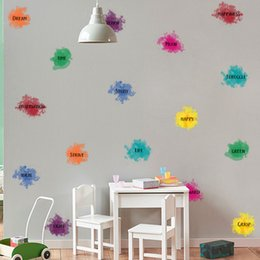 decor sayings NZ - kindergarten School tutorial class Inspirational Saying quotes DIY Removable Wall Stickers Decals Mural Living room Home Decor