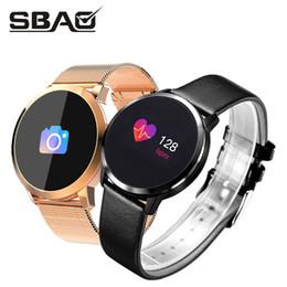 Q8 Smart Watch Australia - Q8 Smart Watch Men Women Round Sports Band 2018 Fitness Smartband Waterproof Sport Bracelet For Girls Man Watches Blood Pressure J190522
