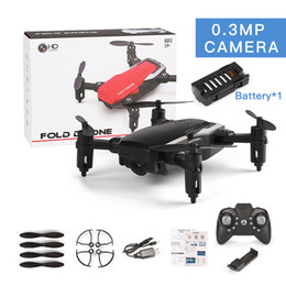 Wholesale LF606 Wifi FPV RC Fold Drone Quadcopter With 0.3MP 2.0MP Camera 360 Degree Rotating Outdoor Flying Aircrafts DHL