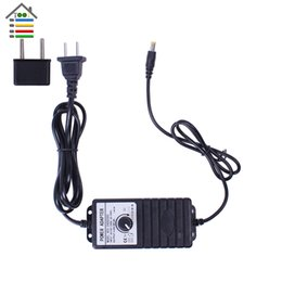 speed controller 24v UK - power adapter AUTOTOOLHOME Adjustable DC 3-24V 2A Adapter Power Supply Motor Speed Controller with EU Plug For Fit Electric Hand Drill