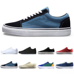 Canvas art for red wall online shopping - New Classic THE WALL old skool Wans FEAR OF GOD For men women canvas sneakers YACHT CLUB MARSHMALLOW fashion skate casual shoes